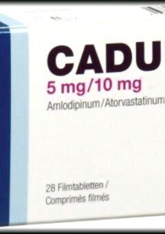 Caduet-Storvas MF-Amlodipine Besilate +Atorvastatin 5+10mg