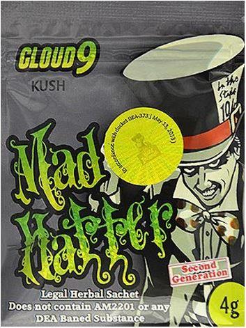 Cloud 9 Mad Hatter Kush (3g)