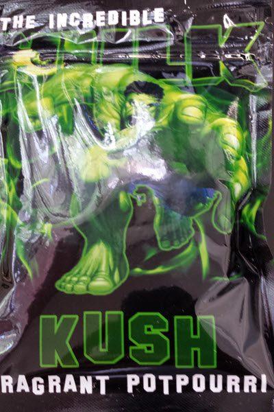 The Incredible Hulk Kush (4g)