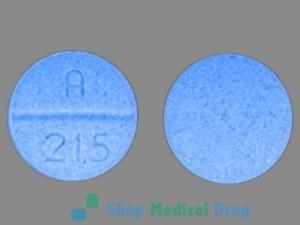 A 215 (Oxycodone 30 mg)