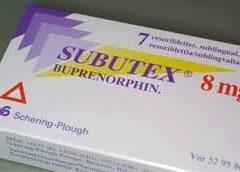 Subutex 8mg