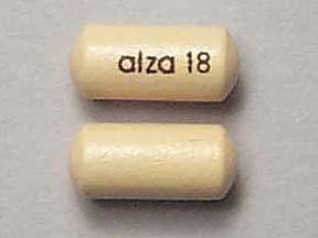 Concerta (Methylphenidate) 18mg