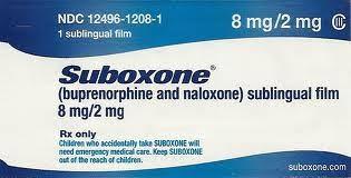 Suboxone 8 mg Strips (Film)