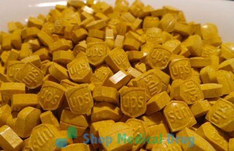 Yellow UPS Ecstasy / MDMA 220mg pills