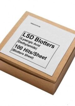 LSD (Lysergic Acid Diethylamide) blotter