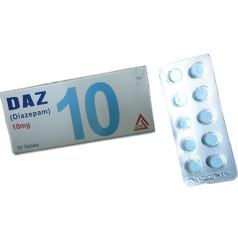 Daz (Generic Diazepam) 10mg