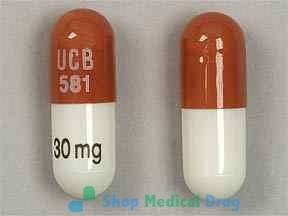 Metadate (Methylphenidate) 30mg capsule