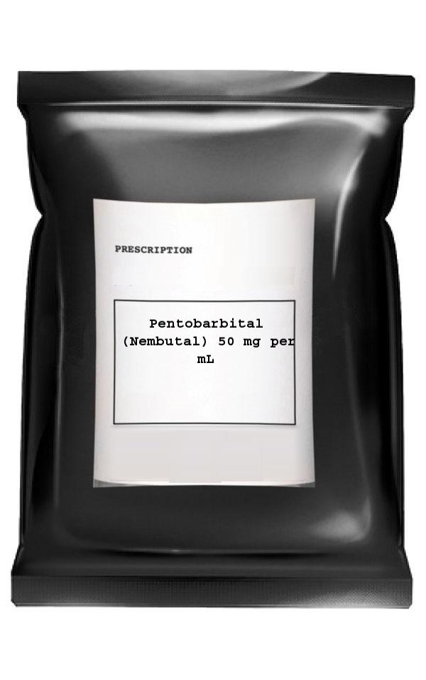 Pentobarbital (Nembutal) 50 mg per mL